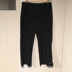 Nike Dri-Fit Black Athletic Pants, Size Small